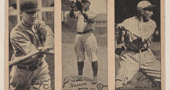 1923 strip baseball cards